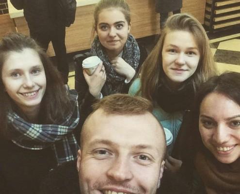 Алиса Савельева, Раиля Габбасова и Валентина Игнатьева